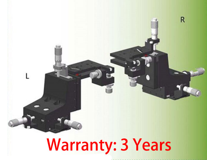 Five-axis Collimator Adjusting Table F60-G85F Manual Fine Tuning Platform 67*37.5mm
