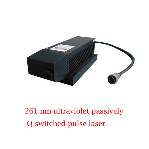 TEC Cooling System 261nm Ultraviolet Passively Q-switched Pulse Laser 0.1~4µJ/1~10mW