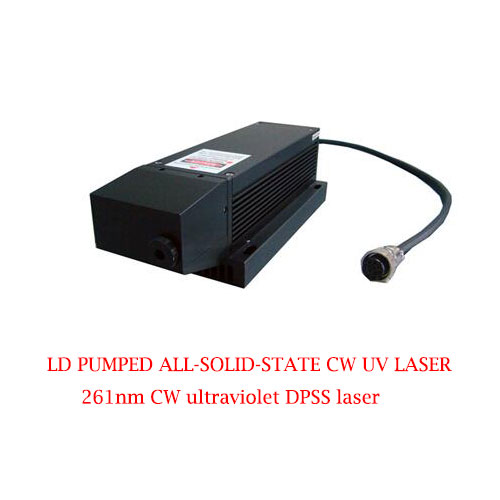 Superior Beam Quality 261nm UV Solid State Laser 1~5mW CW DPSS Laser