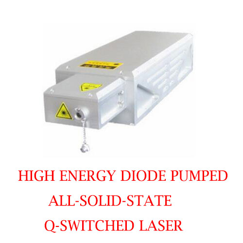 Water Cooled High Energy 266nm Actively EOM Q-switched UV Laser 2~5mJ