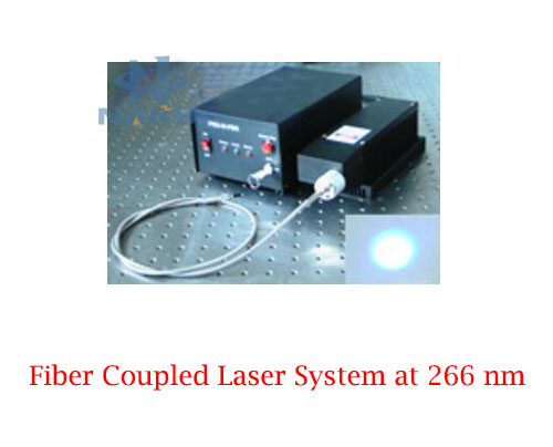 266nm Fiber Coupled Laser System Resist ultraviolet damage fiber core diameter 600μm