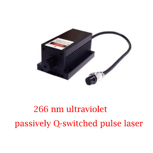 Controllable or Uncontrollable optional 266nm ultraviolet passively Q-switched pulse laser 0.1~5µJ/1~20mW