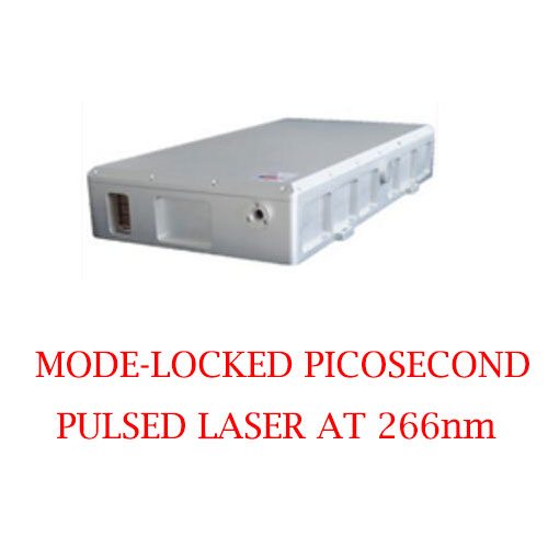 Short Pulse Duration High Repetition Rate 266nm Picosecond Pulsed UV Laser 1-50mW