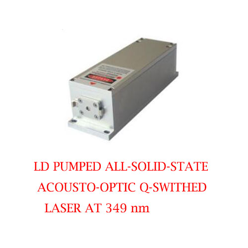 High Peak Power 349nm Actively Q-switched UV Laser 1~8μJ/ 1~15mW