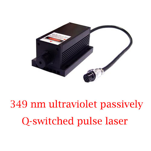 Superior beam quality 349nm Passively Q-switched UV Laser 0.1~10uJ/ 1~30mW