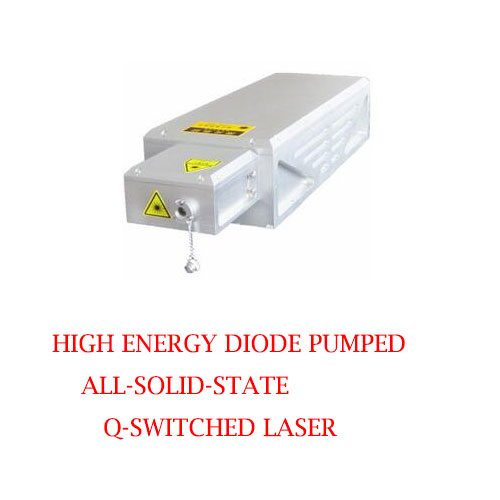 Water cooled high single pulse energy 355nm DPSS Q-switched laser 2~10mJ