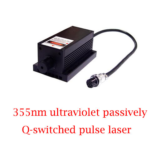 TEC Cooling System 355nm Ultraviolet Passively Q-switched Pulse Laser 0.1~15µJ/1~100mW