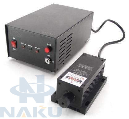 375nm Ultra Violet UV DPSS Laser 100mw Power stability 5%
