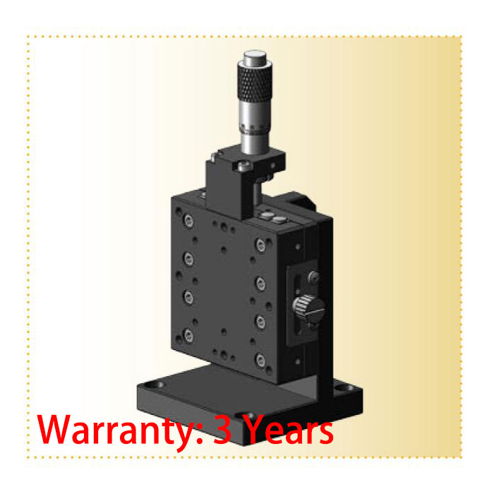 Z-axis L Plate Cross Guide Manual Fine Tuning Lifting Platform RL13-60JC 60*60