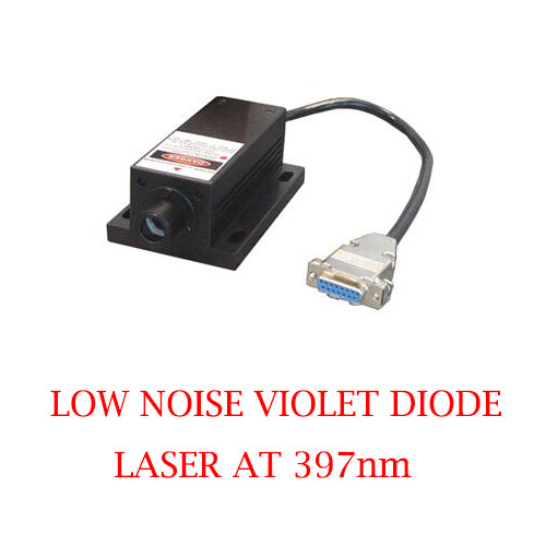 Best reliability and lifetime 397nm Low Noise Diode Laser 1~100mW