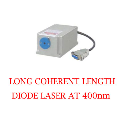 Stable Wavelength 400nm Long Coherent Length Diode Laser Module 1~50mW