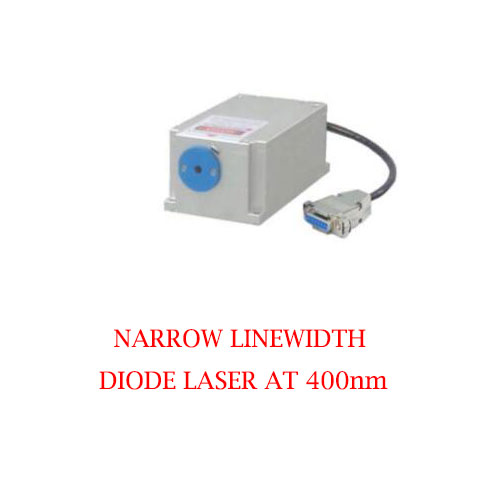 Stable Wavelength 400nm Narrow Linewidth Diode Laser 1~50mW
