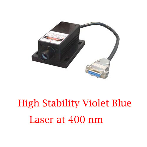 Ultra Compact 400nm High Stability Violet Blue Laser 1~300mW