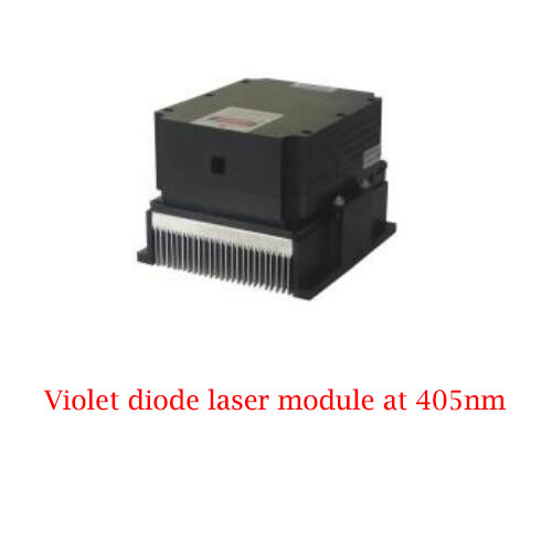 High Stability Long Lifetime 405nm Violet Diode Laser 3W