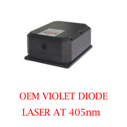 Ultra Compact Long Lifetime 405nm OEM Violet Diode Laser 5~10W