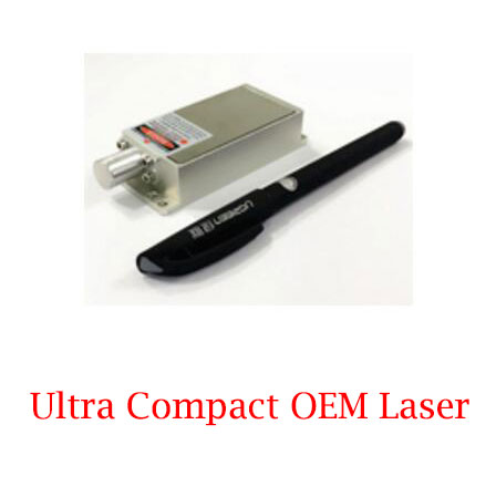 High Power Small Size 561nm Yellow Green Laser 300mW