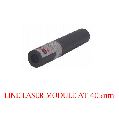 High Stability Long Lifetime 405nm Line Laser Module 1-200mW