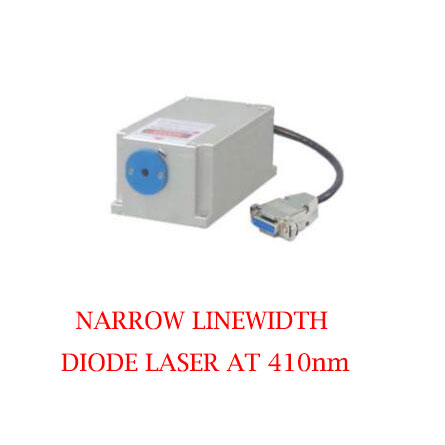 Easy operating 410nm Narrow Linewidth Violet Blue Laser 1~50mW
