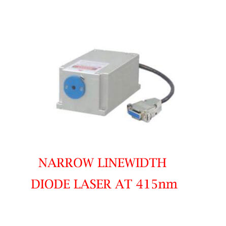 Easy operating 415nm Narrow Linewidth Violet Blue Laser 1~50mW