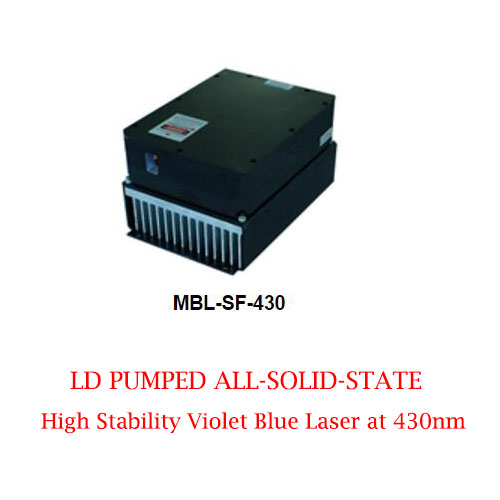 High Stability Easy Operating 430nm LD Pumed Solid State Blue Laser 1~100mW
