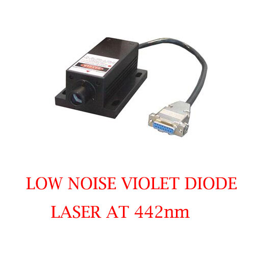 Long Lifetime Easy Operating 442nm Low Noise Violet Blue Laser 1~80mW