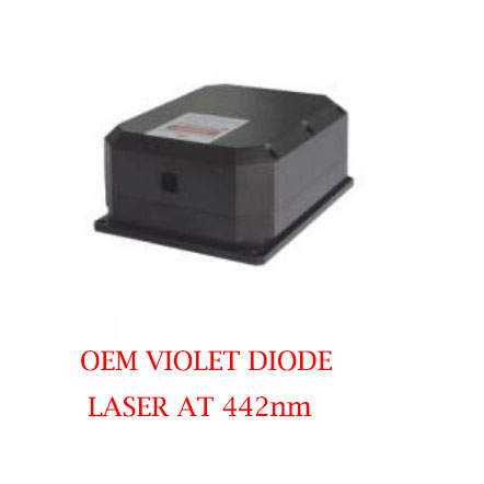 Ultra Compact Long Lifetime 442nm OEM Laser CW Operating Mode 4000~6000mW