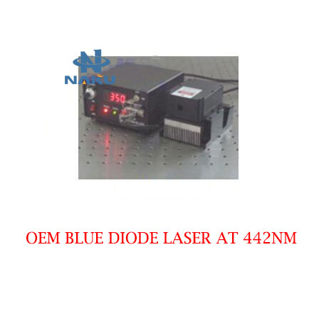 Low Cost Long Lifetime 442nm OEM Laser CW Operating Mode 150~300mW