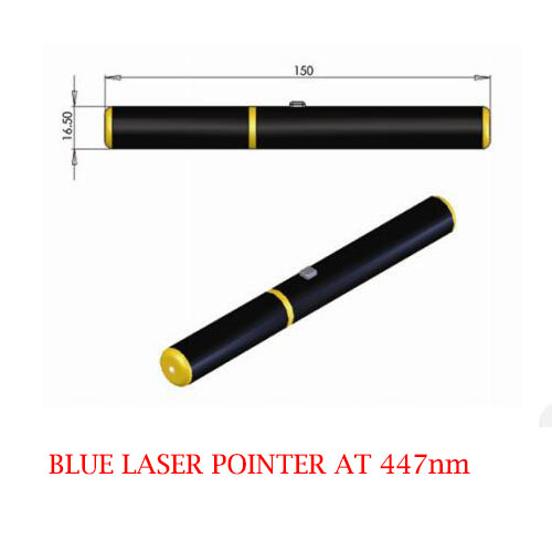 447nm 5mw Blue Laser Pointer Lab blue laser source