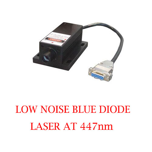 Long Lifetime Easy Operating 447nm Low Noise Blue Laser 1~80mW