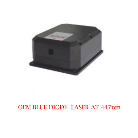 Low Cost Long Lifetime 447nm Laser CW Operating Mode 9~20W