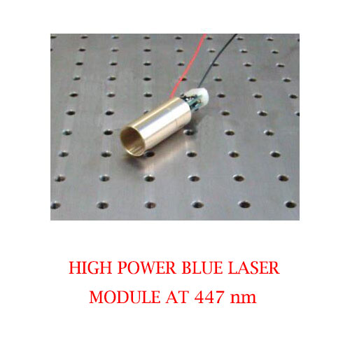High Output Power 447nm High Stability Blue Laser 1~1000mW