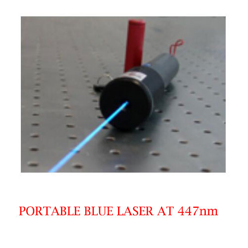 Small Size High Output Power 447nm Portable Blue Laser 5~500mW