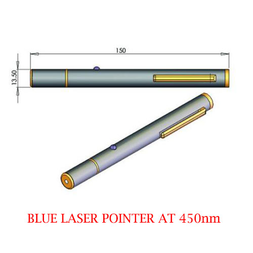 Special Safety Design 450nm Blue Laser