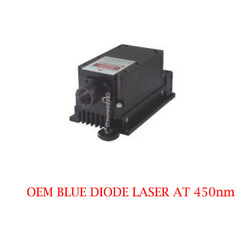 Multimode CW Operating Mode 450nm OEM Blue Diode Laser 1~3500mW