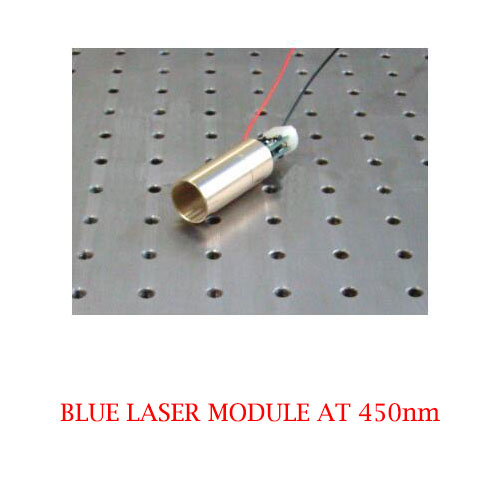 High Reliability 450nm Wide temperature operating Blue Laser 1~50mW