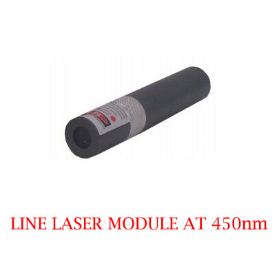 High Stability Long Lifetime 450nm Line Laser Module 1-30mW