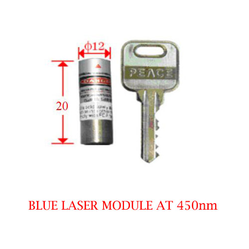 Low Cost High Reliability 450nm Blue Laser Module 5~50mW