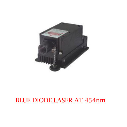 Multimode CW Operating Mode 454nm Blue Diode Laser 1~2000mW