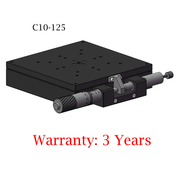Manual precision sliding table Square rotary Fine Tuning Stage C10-125 125*125