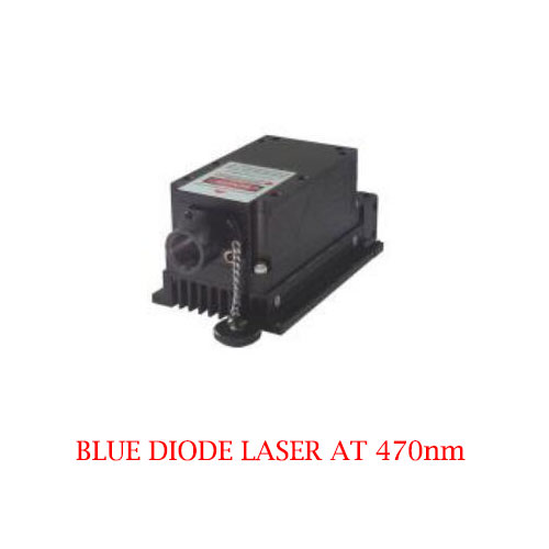 Multimode CW Operating Mode 470nm Blue Diode Laser 1~2000mW