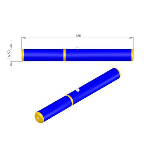 Special Safety Design 473nm Blue Laser Pointer 0.6~5mW