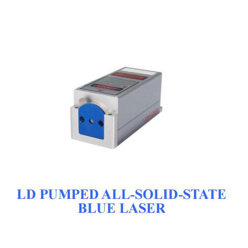 Small Size 473nm Solid State High Stability Blue Laser 1~100mW