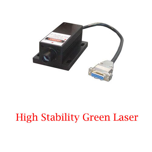 High Stability 505nm Green Ultra compact Long lifetime Laser 1~80mW