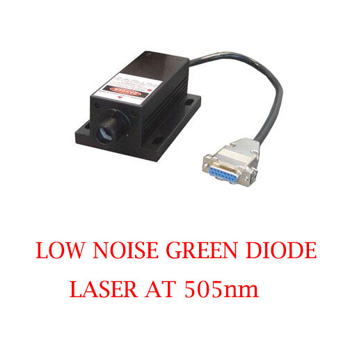 Long Lifetime Easy Operating 505nm Low Noise Green Laser 1~80mW