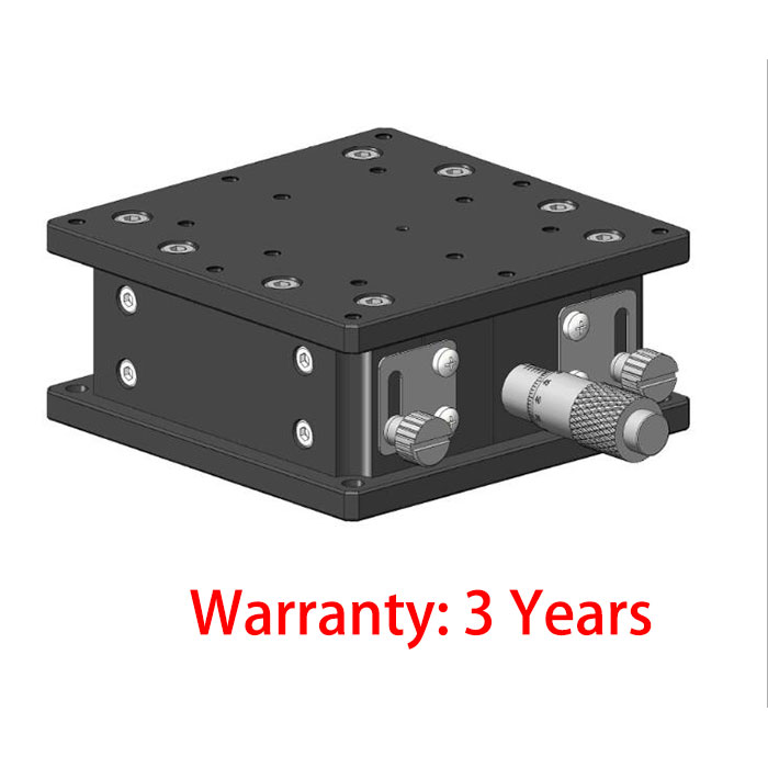 Manual Fine Tuning Stage Z-axis adjustment frame Lifting sliding table R20-902J 90*90