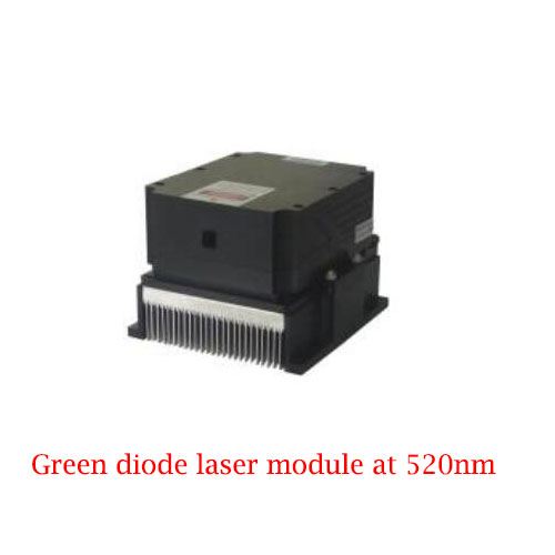 Long Lifetime Easy Operating 520nm High Stability Green Laser 5~10W