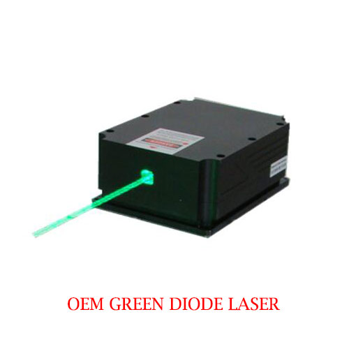 Ultra Compact Long Lifetime 520nm Laser CW Operating Mode 3~4W