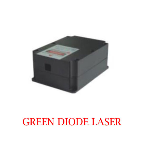 Low Cost Long Lifetime 520nm Laser CW Operating Mode 2W