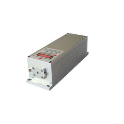 High Repetition Rate 526.5nm Actively Q-switched Green Laser 1~20uJ/ 1~50mW