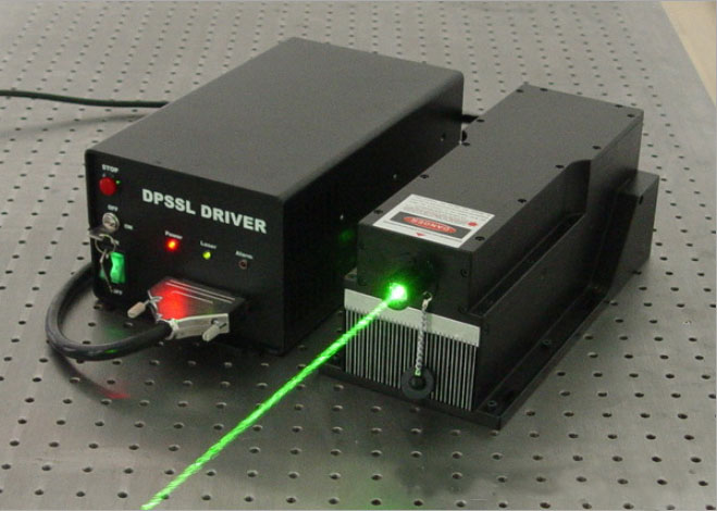 532nm 10W Solid-state Laser High Power Pumped Laser
